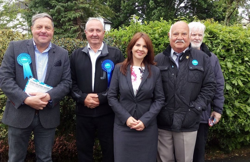 Trudy Harrison MP and local Conservatives